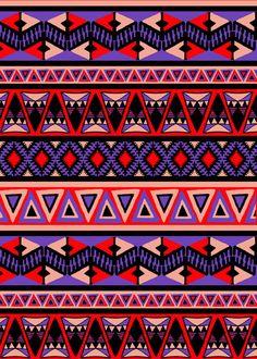 Indigenous Pattern // Diseño Con Patrón Indígena