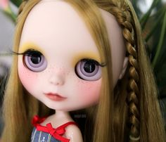 OOAK Custom Blythe doll Emily Custom 214 by Soulgirldolls on Etsy