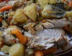 Greek Recipes, Fish Recipes, Seafood Recipes, Greek Beauty, Potato Salad, Good Food, Fish Food, Chicken, Meat