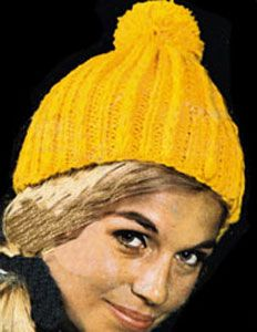 Knit Hat pattern originally published by Bernat Handicrafter 1d4ef8ae036