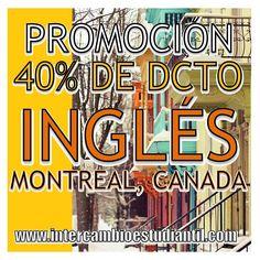 # Ingles #English #Montreal #Canada #Learn #Travel #Viajar  #GRAcademic    www.intercambioestudiantil.com - info@intercambioestudiantil.com