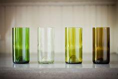 Wine Bottle Glasses