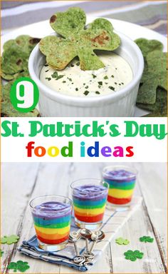 St. Patrick's Day Food.  Fun food ideas to celebrate St. Patrick's Day.