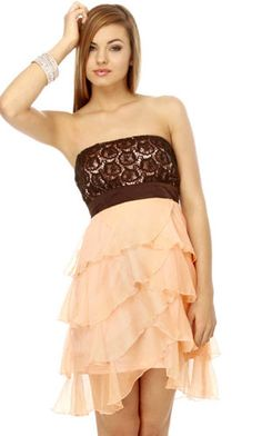 Poovey Homecoming Dresses Short 2015
