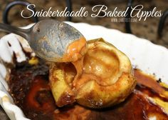 Snickerdoodle Baked Apples!