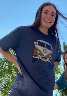 St. Joe Heather Navy VW Bus Short Sleeve T-Shirt - 57101627