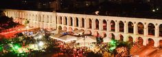 Lapa's Arcs, one of the older things constructed in Rio de Janeiro city. It was an aqueduct in the Imperial  time.(1700/1800)
