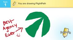 Draw Something - The Flightpath edition.  Check out the gallery of masterpieces from Flightpathians