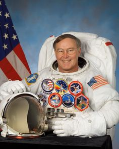 Jerry L. Ross, Colonel U.S. Air Force (Retired) and former NASA Astronaut was born January 20, 1948 in Crown Point, Indiana. Graduating from Crown Point High School, Crown Point, Indiana, in 1966.  He was awarded the American Astronautical Society's Victor A. Prather Award for spacewalking achievements (1985, 1990 and 1999) and the Flight Achievement Award (1992, 1996, 1999 and 2002).
