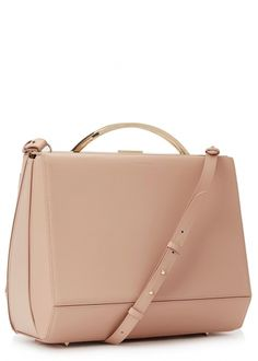 Dean small blush leather box bag - New In