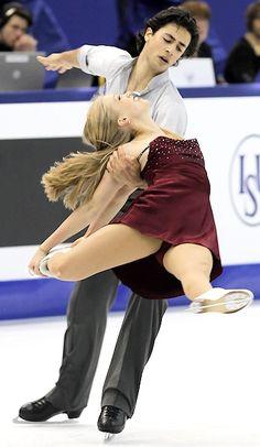 Canada's Kaitlyn Weaver and Andrew Poje  push towards World podium