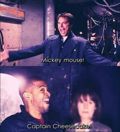 """Mickey Mouse!"" ""Captain Cheesecake!"" Doctor Who is the best."