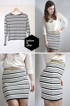 DIY Lined Skirt   DIY Skirts and Pants for Women