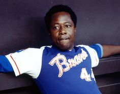 Explore the best Hank Aaron quotes here at OpenQuotes. Quotations, aphorisms and citations by Hank Aaron Hank Aaron, Famous Baseball Players, Open Quotes, S Quote, Quotations, Author, Mens Tops, Image, Legends