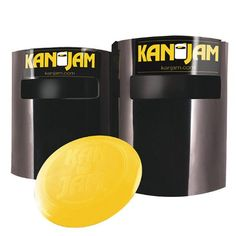 Kan Jam - better than disc golf! From The Monster List of Alternative Tailgate Party Games http://www.tailgatepartysite.com/30-best-tailgate-party-games-monster-list/