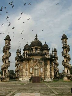 Mohabbat Maqabara Palace in Junagadh Gujrat India