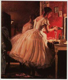 LE Ballet Chaussure Dame Laura Chevalier Imprimée Vintage Années 80 PRÊT Monté Superbe | eBay