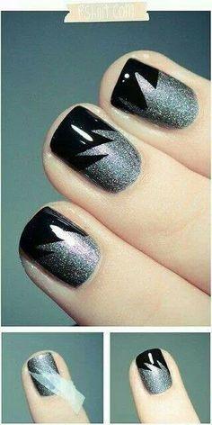 .Silver black