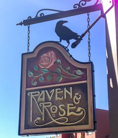 "Raven and Rose  classic farmhouse cookery and fine cocktails in Portland's historic Ladd Carriage House.  ""Water? Never touch the stuff. Fish fuck in it."" -W.C. Fields""  1331 SW Broadway  Portland, OR  http://www.ravenandrosepdx.com"