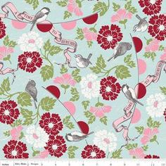 Carina Gardner for Riley Blake Remember Main in by chitchatfabrics