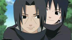 Itachi Uchiha and Sasuke
