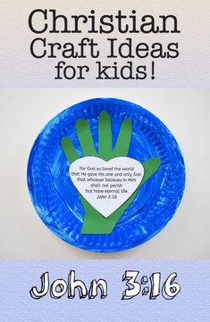 Christian craft ideas for kids: John 3:16