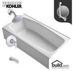 Kohler K-715/K-T45104-4 | large bathroom | Pinterest | Large ...