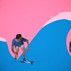 animation loop summer beach color wave skate surf motiondesign trending #GIF on #Giphy via #IFTTT http://gph.is/1ZXyh0H