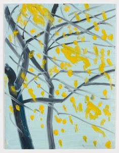 Alex Katz TBC 2015 Oil on board 12 x 9 inches