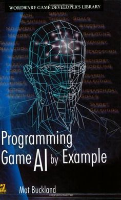 Programming Game AI By Example (Wordware Game Developers Library) by Mat Buckland http://www.amazon.com/dp/1556220782/ref=cm_sw_r_pi_dp_kJ33ub0TJDZ2D