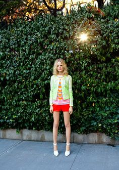 Hanne shot by Frances Tulk Hart.  Ha... I saw this shoot happening on my way to work last year.