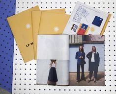 Sharp and chic mini catalogue for LF Markey | Newspaper Club #newspaperclub #newspaper #lfmarkey #catalogue #traditionalmini