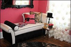 French style boudoir for little girls Paris chic theme bedroom