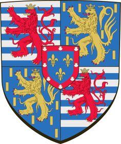 Arms of Grand Duke of Luxembourg (House of Bourbon-Parma) - Casa de Borbón - Wikipedia, la enciclopedia libre