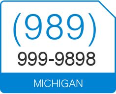 Buy (989) 999 9898 1 Michigan Vanity Number
