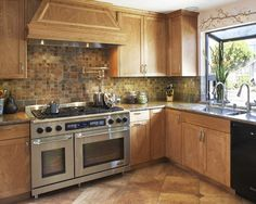 Tile Patterns For Kitchen Backsplash Design, Pictures, Remodel, Decor and Ideas