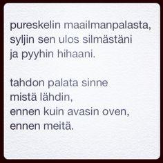 päivän runo 11.3.2014