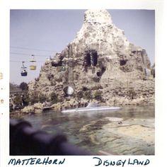 Early Matterhorn of Disneyland