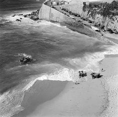Praia dos Pescadores, Ericeira, Portugal Fotógrafo: Estúdio Horácio Novais. Fotografia sem data. Produzida durante a actividade do Estúdio Horácio Novais, 1930-1980.