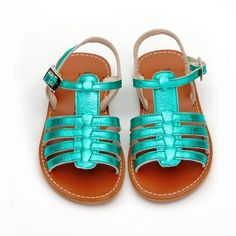 Toddler Shoes, Kid Shoes, Girls Shoes, Cute Baby Shoes, Baby Girl Shoes, Sandalias Teva, Baby Girl Fashion, Kids Fashion, Turquoise Sandals