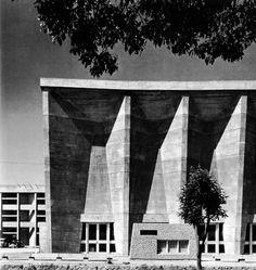 Town Hall, Imabari, Japan  (Kenzo Tange, 1957-59)