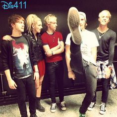 Photos And Video: R5 Performing In Sweden February 11, 2014