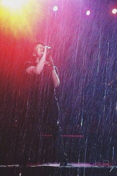 singing 'baby come home' in a melody of tears while the rhythm of the rain keeps time