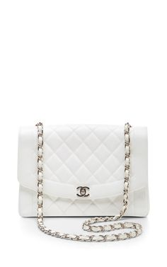 fe891fe0d99 Chanel White Caviar Classic Flap Jumbo by What Goes Around Comes Around for  Preorder on Moda
