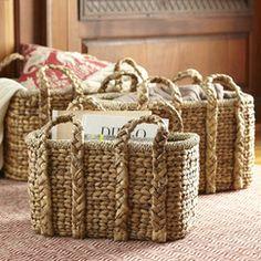 Handled Storage Basket