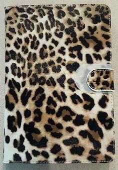 ZuGadgets Leopard Animal Print Protective Skin Smart Case Stand iPad Mini *NEW*