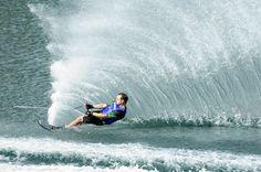 water skiing #McCainAllGood