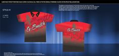 Sublimated Pit Crew Shirts - Custom Designed and manufactured - www.StellarApparel.com