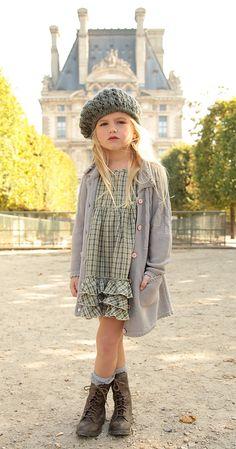 We make vintage inspired girls clothing. Get this whole look at Blu Pony Vintage