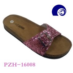Lady Fashion Slipper with Glitter picture from Shantou-City Poocan Footwear Co. view photo of Fashion Slipper, Lady Shoes, New Shoes.Contact China Suppliers for More Products and Price. Kids Clogs, Fashion Slippers, Birkenstock Arizona, Glitter, Sandals, Lady, Womens Fashion, Shoes, Shoes Sandals